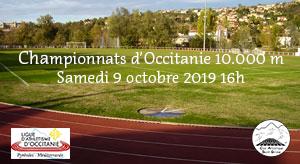 Championnat Occitanie 10.000 m.